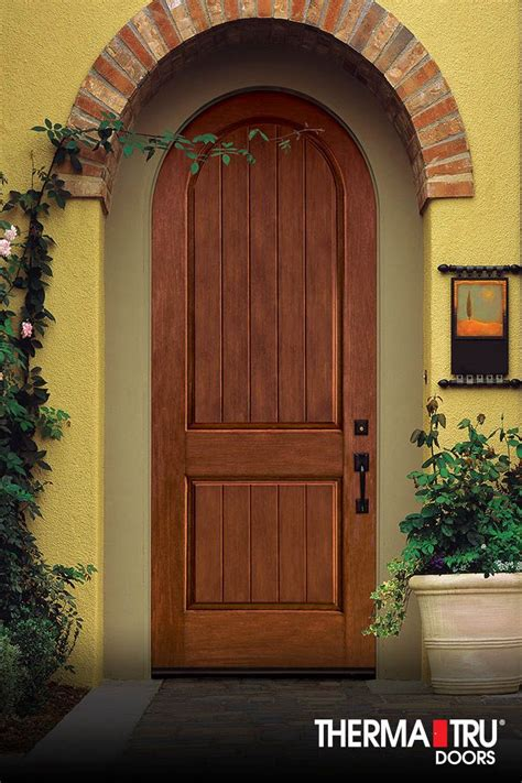 therma tru exterior doors fiberglass therma tru classic craft rustic collection fiberglass door