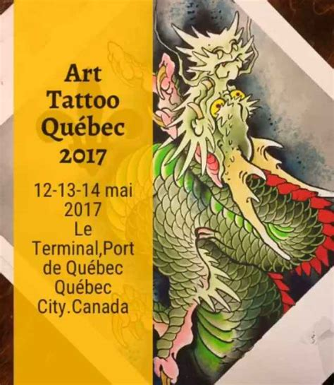 tattoo au quebec art tattoo show qu 233 bec