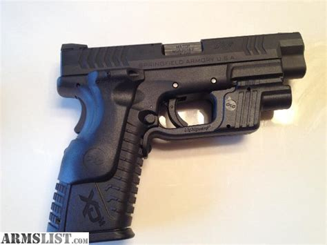 Armslist For Sale Springfield Xdm 45 Acp With Ct Laser
