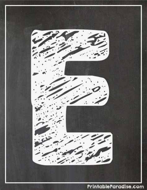 printable chalkboard letters printable letter e chalkboard writing print chalky letter e