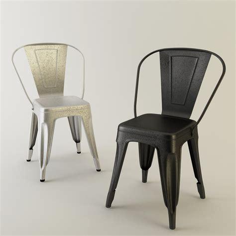 stuhl 3d tolix chair metal 3d max