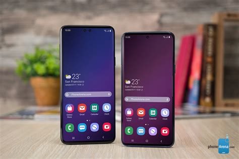 galaxy s10 display tech leak reiterates a 5 8 quot standard model with flat screen phonearena