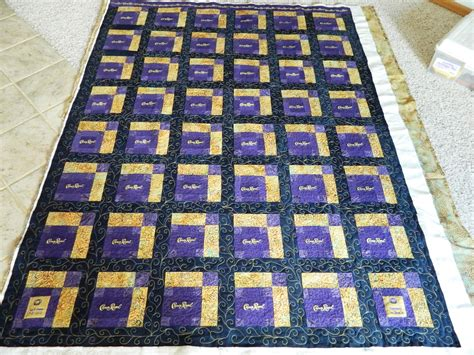 How To Make A Crown Royal Bag Quilt by Creative Quilting Sew Much More July 2013