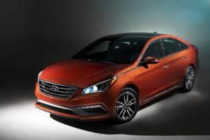 2015 Sonata Hyundai 2015 Hyundai Sonata Debuts At Nyias Motorward
