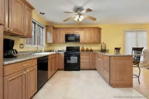 kitchen wall colors with light wood cabinets pictures of kitchens traditional light wood kitchen