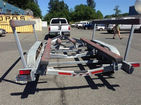 boat trailer triple axle used 2008 13000lb triple axle boat trailer priced to sell