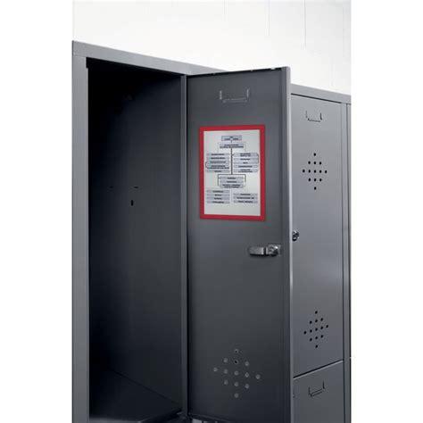 cornici magnetiche cornice magnetica durable a4 rosso 4869 03 conf 5