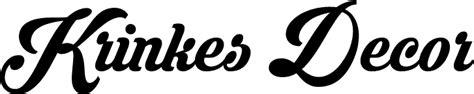 font krinkes krinkes decor personal use font