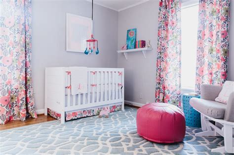 Photo Page Hgtv Pink And Green Curtains Nursery