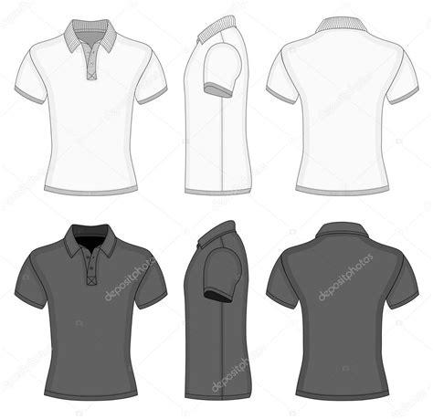 T Shirt Design Vorlage mens polo shirt and t shirt design templates vetor de