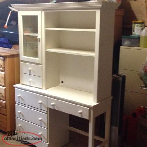 desk with lots of storage white desk lots of storage torbay newfoundland
