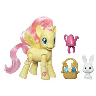 My Pony Fluttershy Flower Picking Original Hasbro play packs available on swan boat mlp merch