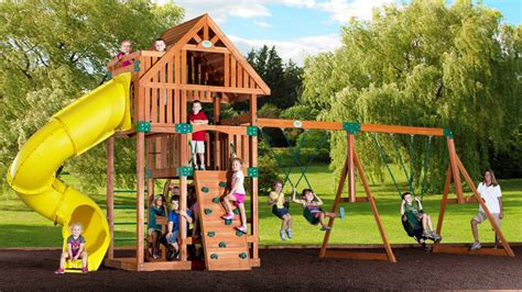 Playsets For Small Backyards by Backyard Playsets Plastic Outdoor Furniture Design And Ideas