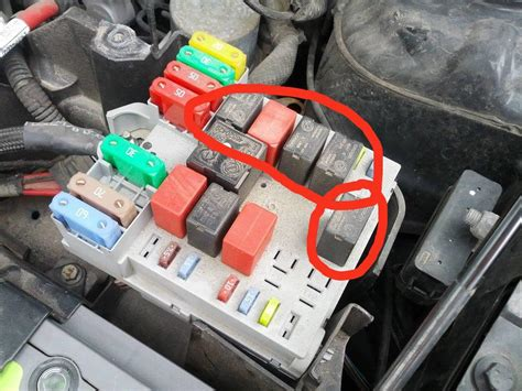 fiat stilo power steering failure technical fuses next to the battery so they melted
