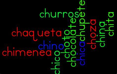 imagenes y palabras con ch palabras que empiecen con ch imagui