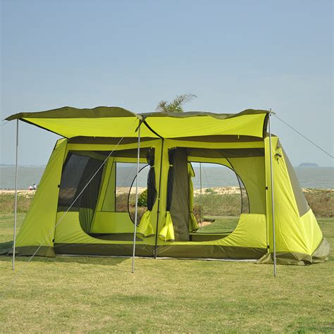 bedroom tent two bedroom one hall tent outdoor 5 8 persons two layer