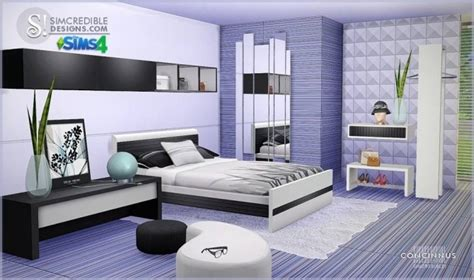 concinnus bedroom  simcredible designs  sims  updates
