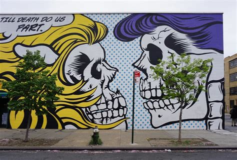 brooklyn graffiti  street art   traveling texans