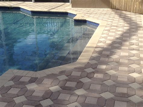 Pool House Design outdoor interlocking pavers tampa with paver stones for