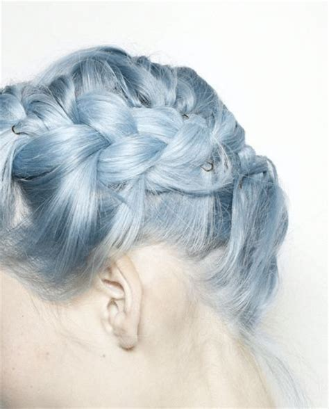Ion Shark Blue | 9 ice blue hue could you rock granny hair these grey