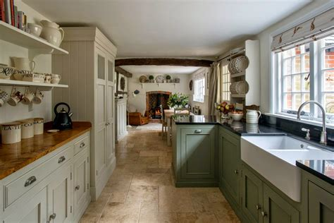 modern country style modern country kitchen and colour scheme - Contemporary Country Kitchen