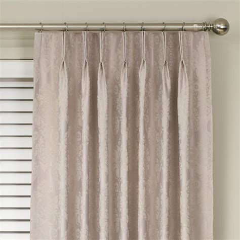 Pinch Pleated Curtains Buy Damask Blockout Pinch Pleat Curtains Curtain