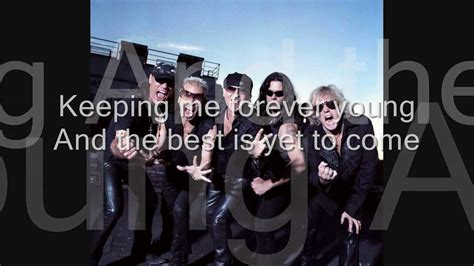 scorpions the best is yet to come scorpions the best is yet to come with lyrics