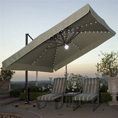Large Umbrella For Patio Offset Umbrellas Offset Patio Umbrella
