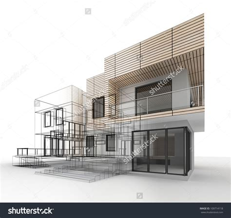 modern house drawing modern house drawing sketch modern house