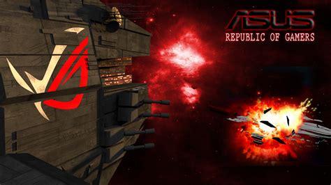 republic of gamers wallpaper pack rog wallpaper theme pack wallpapersafari