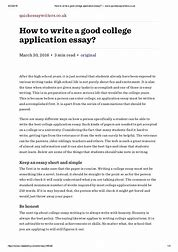 Image result for how to write thesis paper for college application