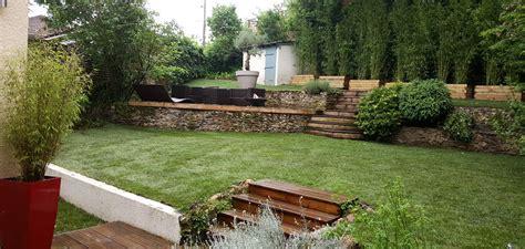 Amenager Pente Jardin by Am 233 Nager Jardin En Pente