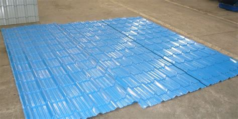 tile pattern roofing sheets china high performance corrugated metal roof tile metal