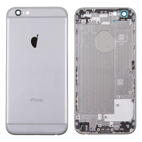 Casing Kesing Housing Iphone 6s Plus Model Iphone X oem metal rear housing back cover with apple logo for iphone 6 4 7 inch grey sw box