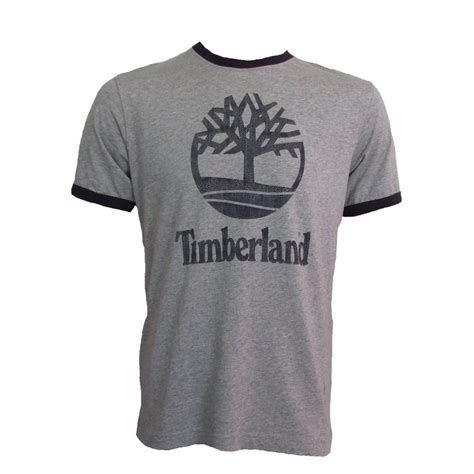 T Shirts For Timberland T Shirt Grey Mens 4201j