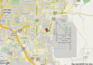 map of 8 motel colorado springs airport colorado