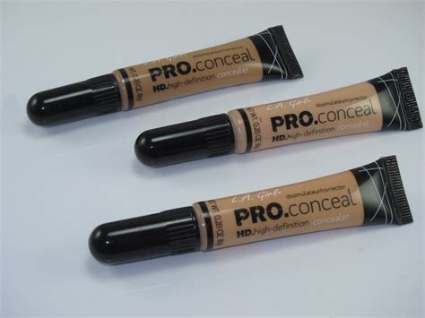 L A Pro Conceal l a hd pro conceal review swatches cosmetics