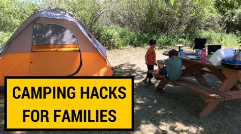 Arts And Crafts Books For Kids - 7 kid camping hacks for easier family camping