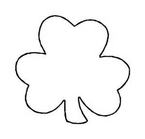 Shamrock Cut Out Template by Printable Flower Stencil Clipart Best