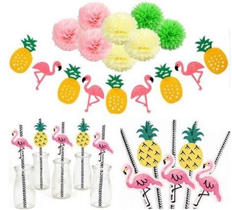 buitenspeelgoed feestje bol party set hawaiian flamingo feestje set