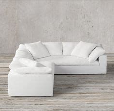 restoration hardware cloud sectional 1000 ideas about sectional slipcover on pinterest