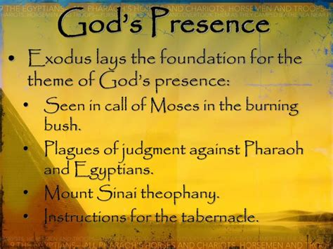 themes of exodus story ppt the book of exodus powerpoint presentation id 6179913