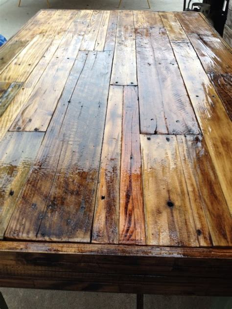 Pallet Wood Table Top Pallet Crafts Pinterest Tops Pallet Wood Table Top