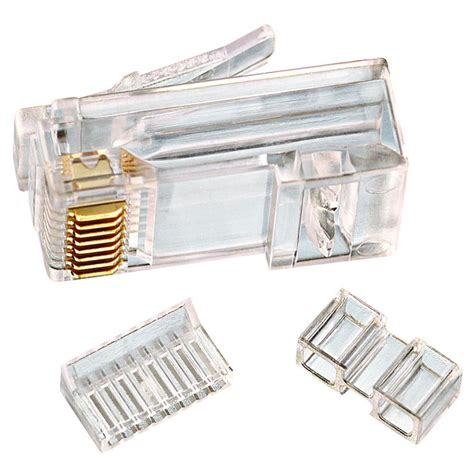 Modular Cat 6 ideal rj45 cat6 modular plugs 25 pack 85 366 the home