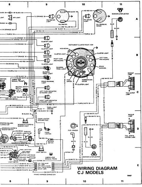 Tach Wiring Diagram For A 81 Jeep Cj7