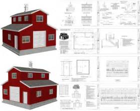pole barn apartment plans wood project ideas looking for monitor pole barn plans