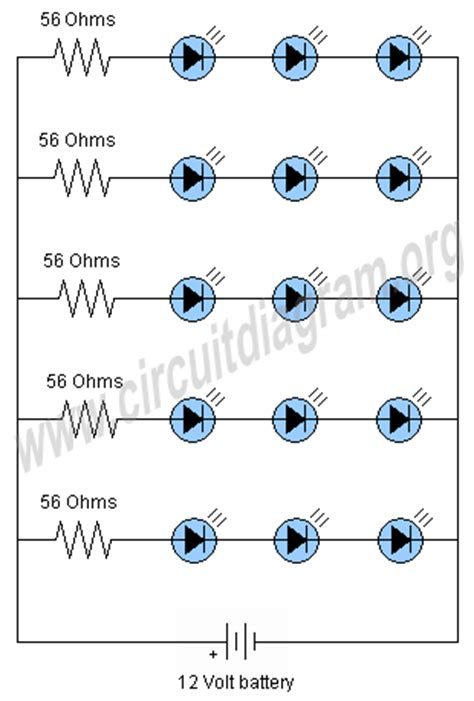 running leds circuit timer nen logic wiring diagram