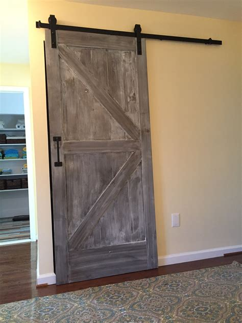 Barn Door House Custom Home Add Ons Storage Sliding Barn Door Va