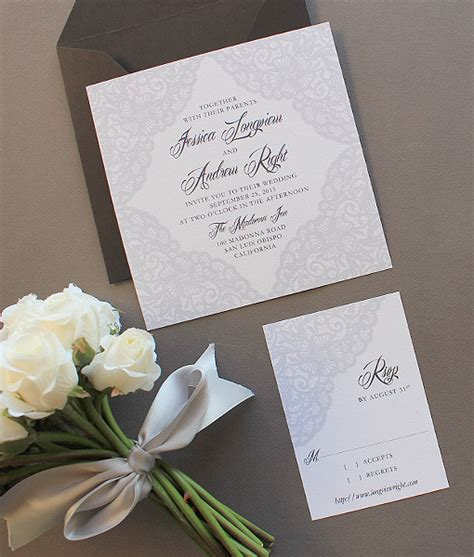 Elegant Lace Square Invitation Template Download Print Square Wedding Invitation Template