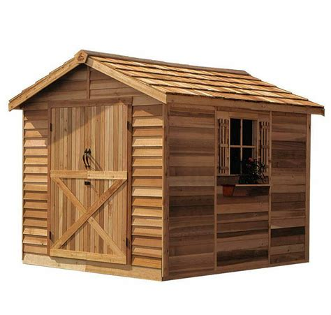 cedarshed rancher  shed  ebay